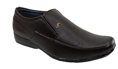 Footsteps Brown Color Formal Shoes for Men , Airmix Sole