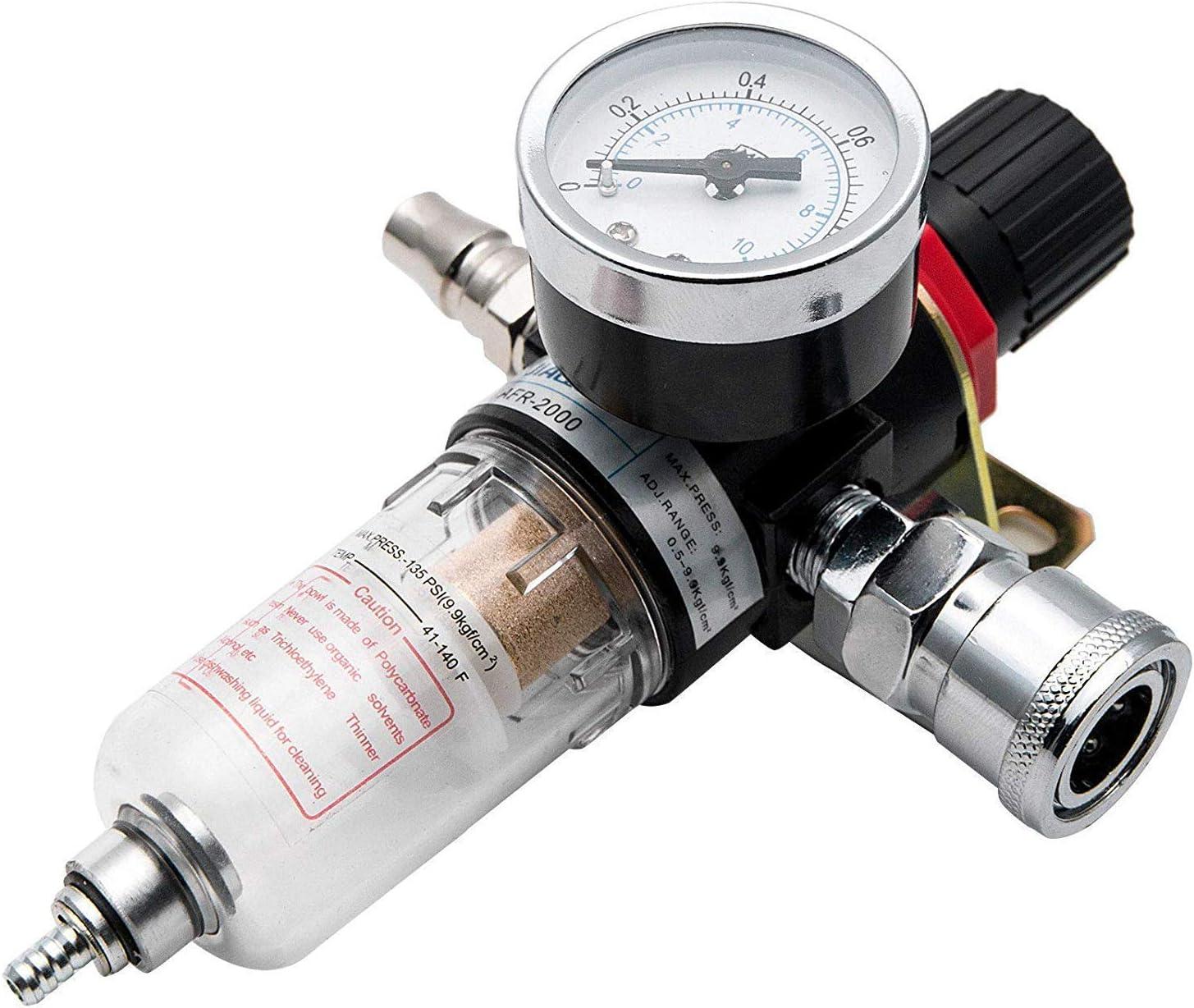 Riloer 1 4 Druckluftdruckregelfilter Druckluftfilter Des Luftwerkzeugsystems Afr 2000 Auto