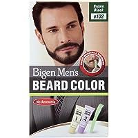 Bigen Men's Beard Color, Brownish Black B102(20g+20g)