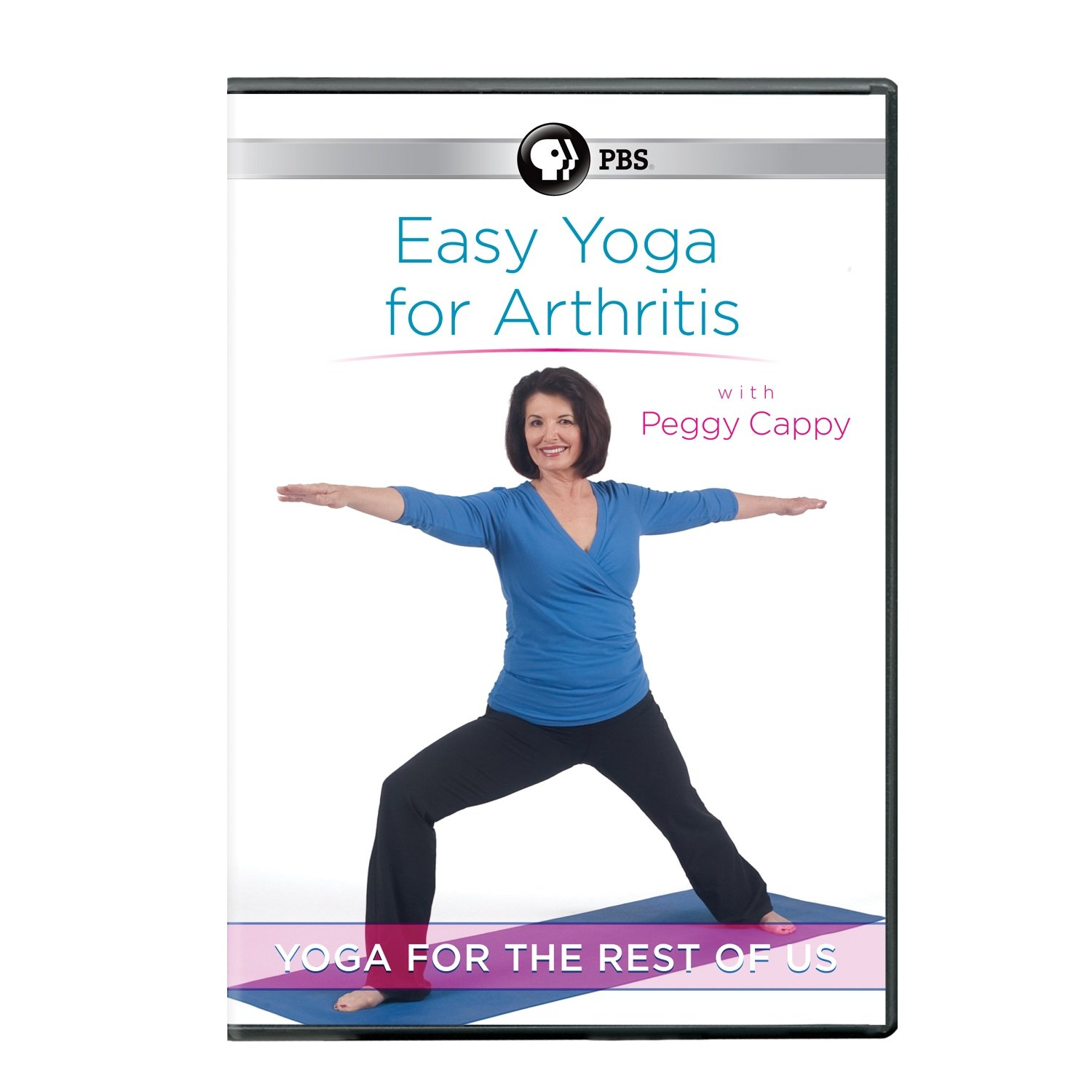 Yoga for the Rest of Us: Easy Yoga for Arthritis with Peggy Cappy Public Broadcasting Service 15062963 Fitness/Self-Help Movie