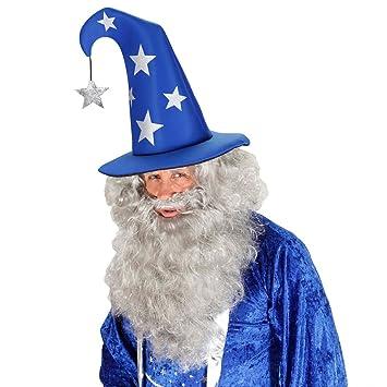 chapeau magicien avec toiles chapeau pointu bleu argent chapeau de magicien chapeau magicien chapeau mage