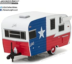 GREENLIGHT 1:64 Hitched Homes Series 2 - Shasta 15' AIRFLYTE