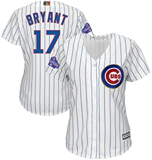 aa34d15e3ab Majestic Chicago Cubs MLB Womens Kris Bryant #17 Cool Base Player Jersey  Plus Sizes