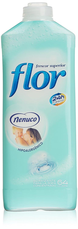 Flor Suavizante concentrado, 64 lavados Nenuco - 1472 ml - [pack de 2]