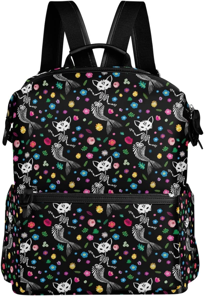 Oarencol Watercolor Sea Turtle Backpack Bookbag Colorful Butterfly Animal Painting Daypack Travel Hiking Camping School Laptop Bag