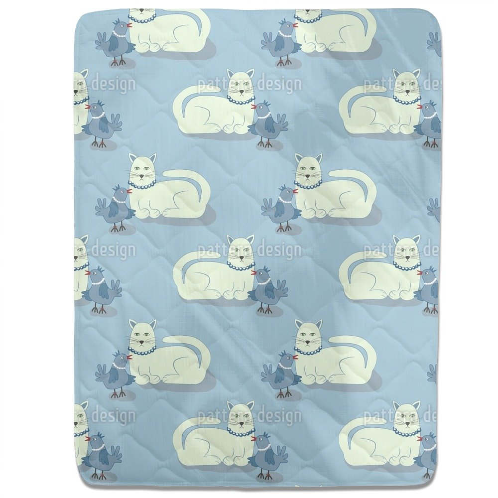 Animal Friends Fitted Sheet: Queen Luxury Microfiber, Soft, Breathable