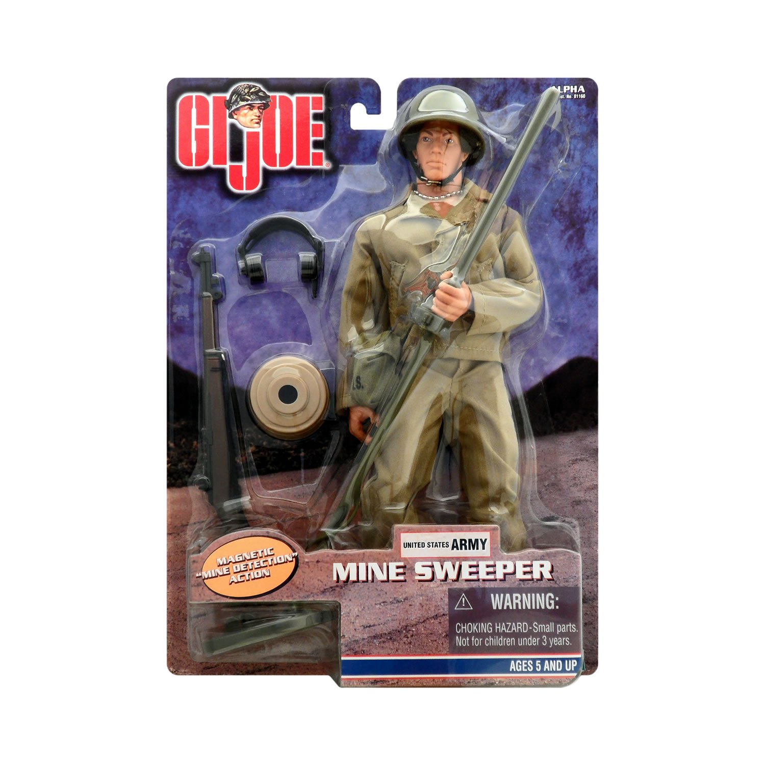 G.I. Joe Mine Sweeper 12  Action Figure
