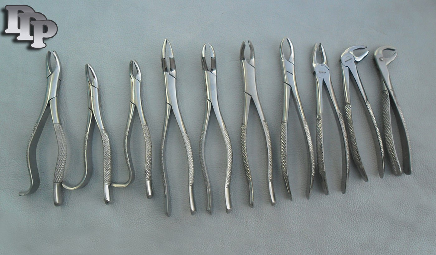 30 NEW EXTRACTING FORCEPS EXTRACTION DENTAL DDP