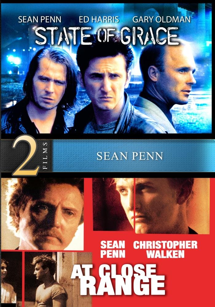 State of Grace / At Close Range - 2 Movies Starring Sean Penn - Digitally Remastered
