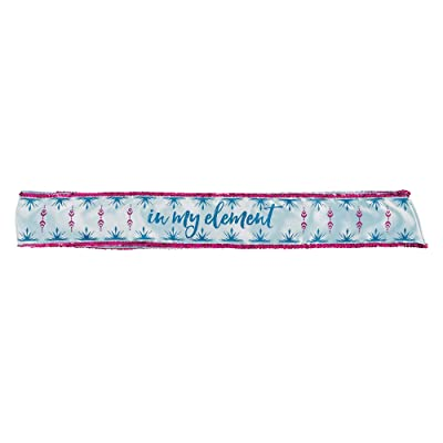 """In My Element Frozen 2 Birthday, Fabric Party Sash, 22"""": Toys & Games"""