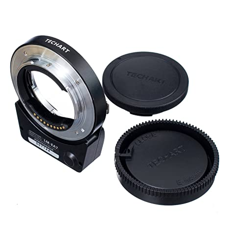 TECHART 5 0 LM-EA7 Auto Focus Lens Adapter for Leica ML/M Lens to Sony NEX  A7II A7RII A6300 A6500 A7RIII A9