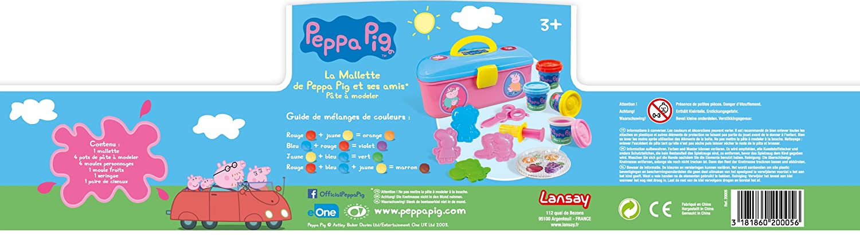 20005 Jeux Educatifs Lansay Mallette Pate A Modeler Peppa Pig Sunnydaytravel Rs