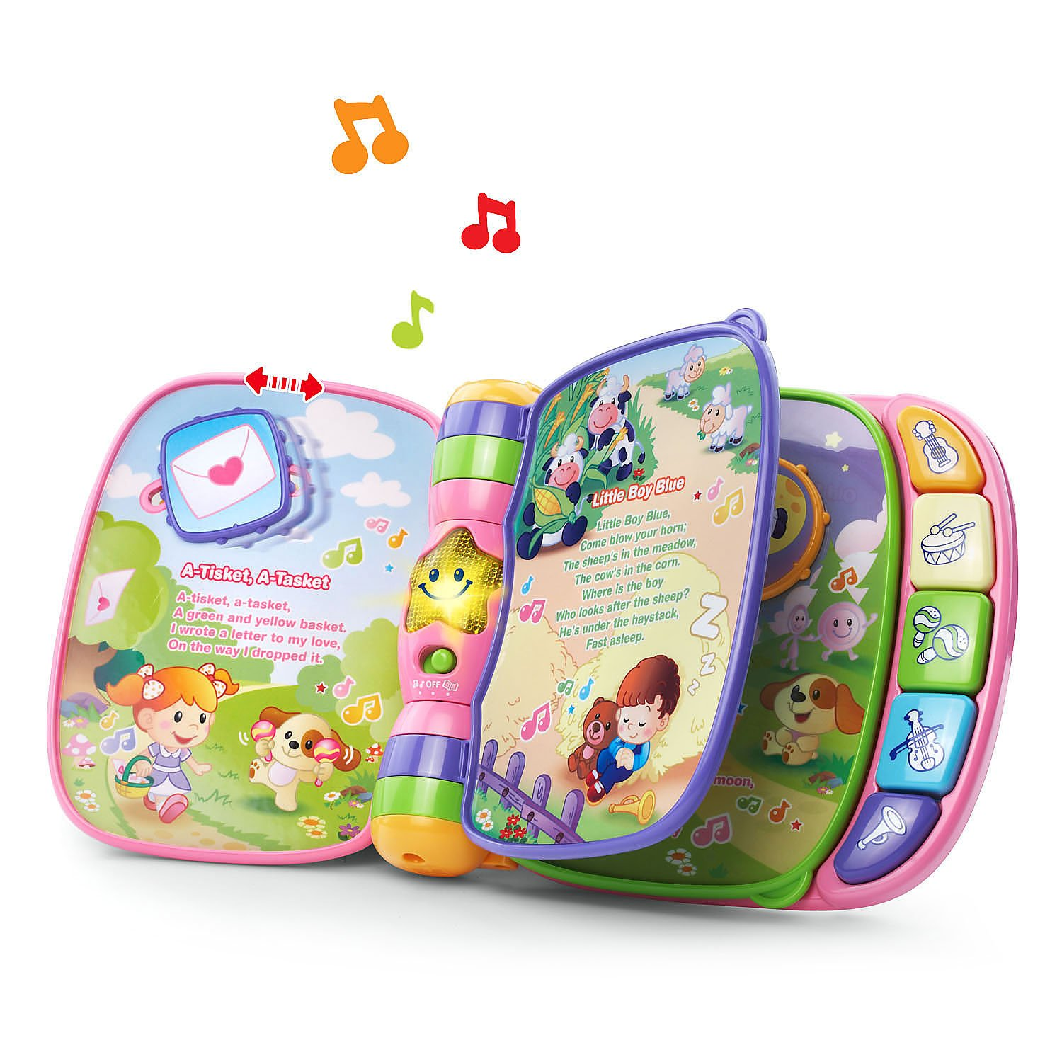 Amazon VTech Musical Rhymes Book Pink line Exclusive