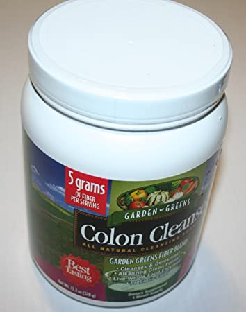 Amazoncom Garden Greens Colon Cleanse All Natural Cleansing