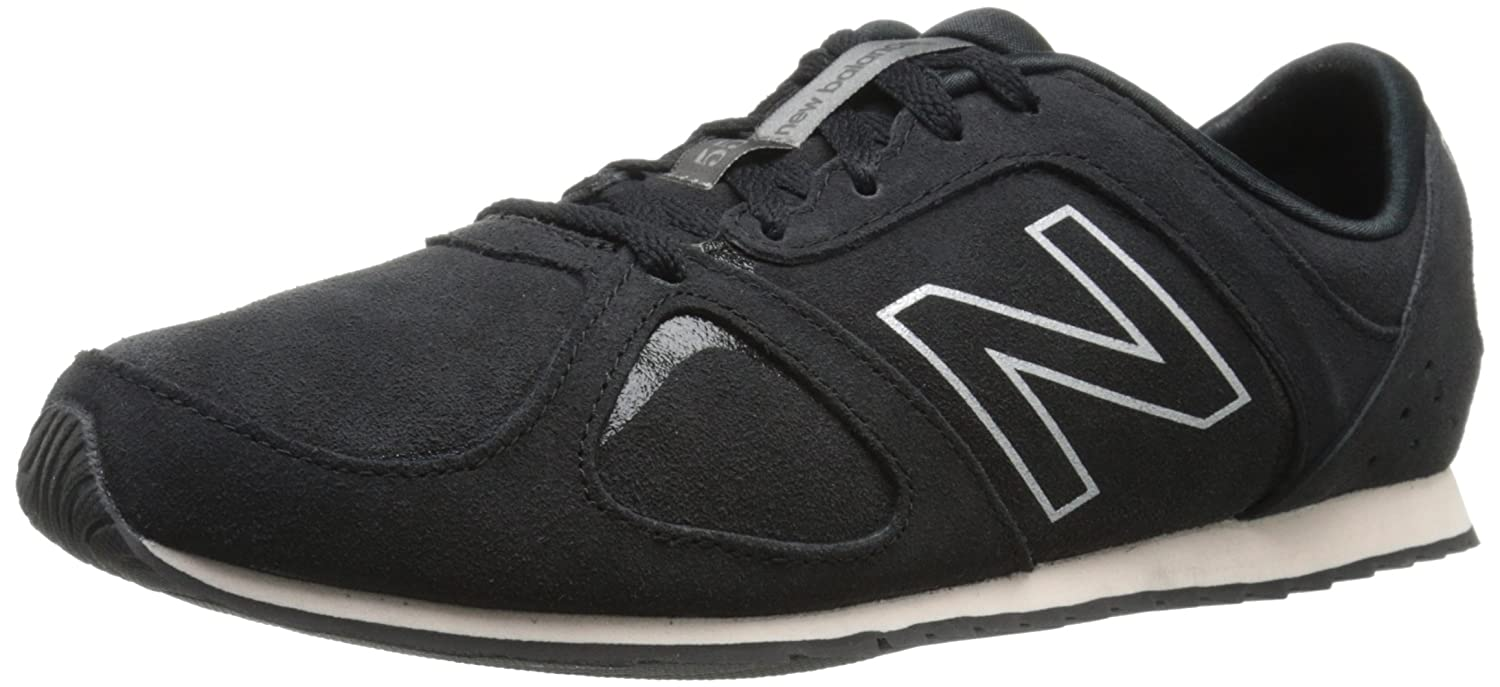 New Balance Women's WL555 Women's Only Casual Running Shoe B00RBJD9MO 8 B(M) US|Black