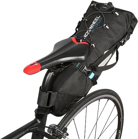 Lixada Impermeable Bicicleta Bolsa Bicicleta Bolsa para sillín de ...
