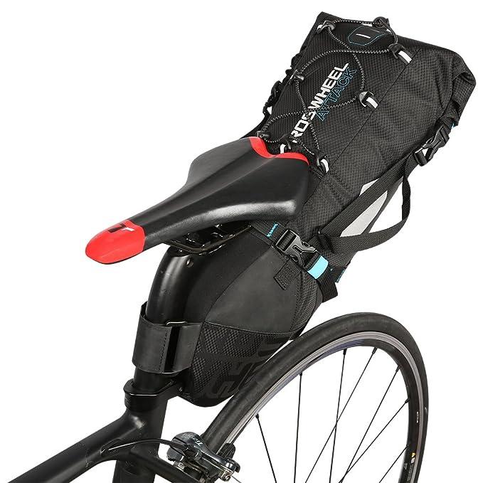 Amazon.com: Lixada Bolsa de sillín impermeable bolsa de ...