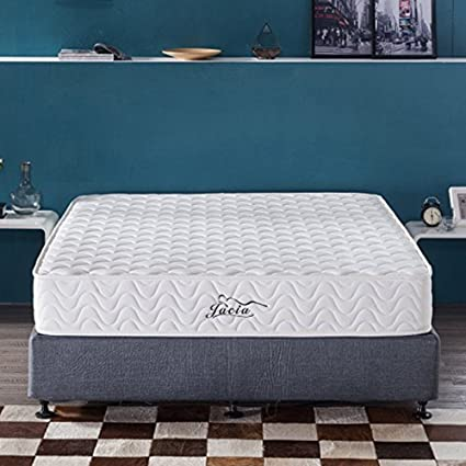 a777aa6f81 Image Unavailable. Image not available for. Color: Jacia House 9 Inch  Memory Foam Innerspring Hybrid Mattress - Bed in a Box