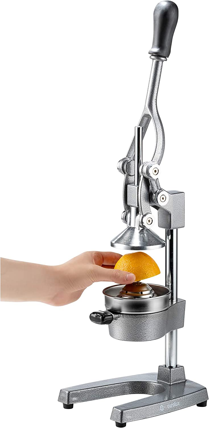 Commercial Grade Manual Hand Press Bonus Stainless Steel Cup ...
