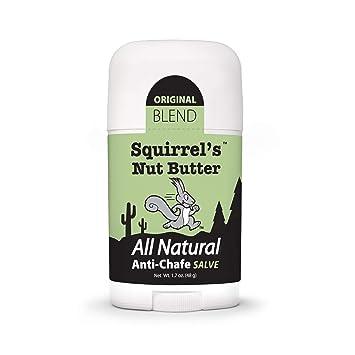 Squirrel's Nut Butter All Natural Anti Chafe Salve, Stick Applicator, 1.7 oz
