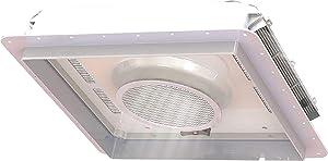 Fan-Tastic Vent 800600 EZ-Breeze Vent 14x14 White