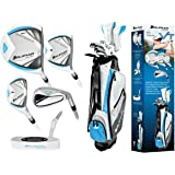 Orlimar Ladies VT Edition Right or Left Hand Golf Club Set w/Ladies Cart Bag+Driver+3 Wood+4 & 5 Hybrids+6-PW+Free Putter; Petite, Regular or Tall Length; Fast Shipping