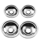 Bestong 4-pack Gas Stove Burner Covers Stainless