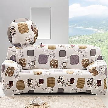 Pleasant Stretch Loveseat Cover 2 Seater Fabric Slipcover Protector Couch Slipcover Lattice Print Machost Co Dining Chair Design Ideas Machostcouk