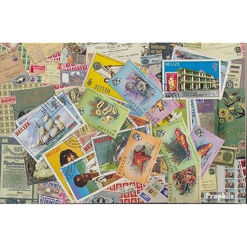 belize 25 différents timbres (Timbres pour les collectionneurs)