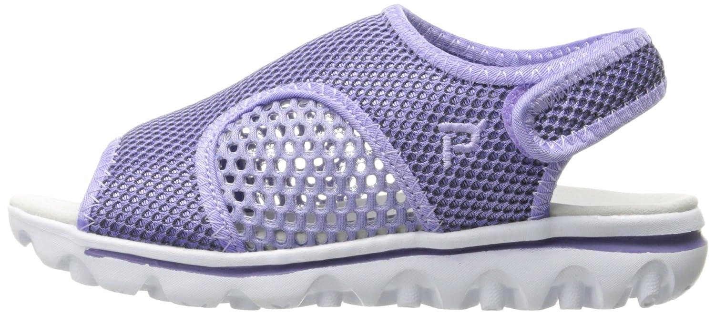 Propet Women's TravelActiv Ss Sandal B01IODDP8S 8 4E US|Purple/Black