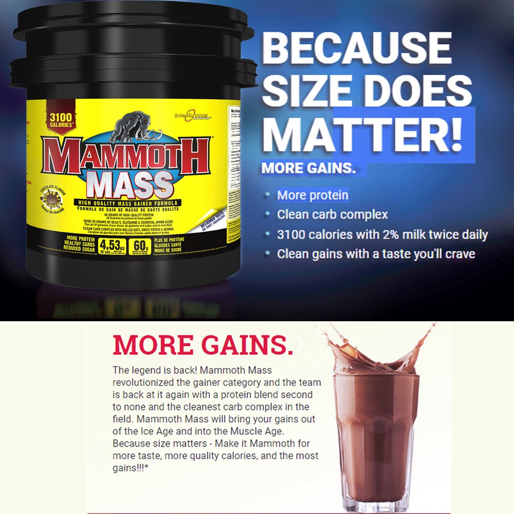 Image result for mammoth supplements athlete