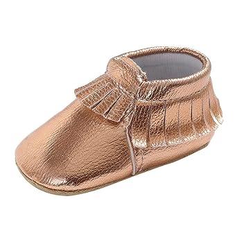 Zapatos de Bebé cinnamou Joven Bebé Niña suave Suela Guantes Sneakers Casual Süße borlas recién nacidos