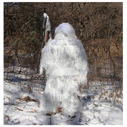 ALLIWEI Uniforme de Camuflaje para la Nieve, Ropa auspiciosa ...