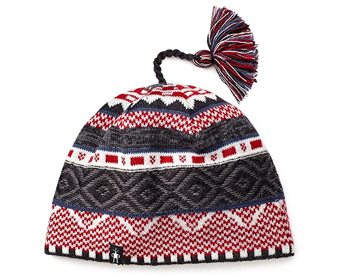 81b7a3aa758 Amazon.com  SmartWool Dazzling Wonderland Beanie (Charcoal Heather ...