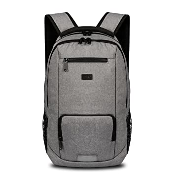 thikin gris Durable Mochila de viaje mochila para portátil de mochila escolar casual mochila multifuncional deporte Negocios Hombro Bolsa Pack estabilidad ...