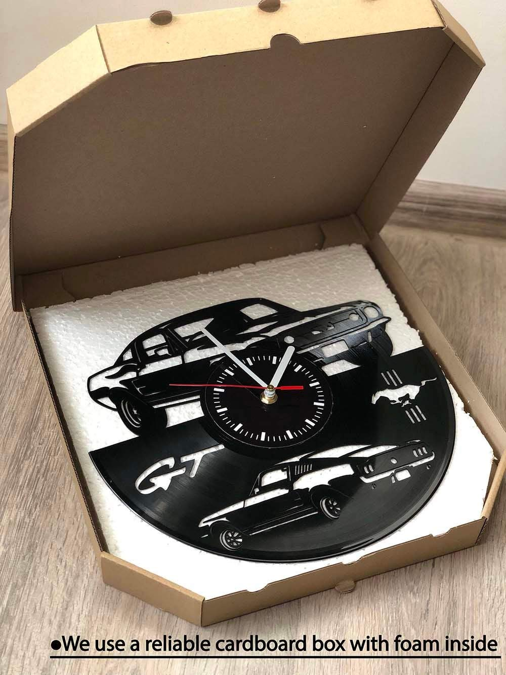 Gifts for Marvel Fans Marvel Heroes Vinyl Wall Clock Marvel Legends Wall Art Marvel Heroes Wall Decor
