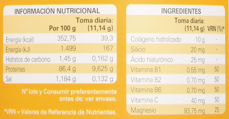 Epaplus Articulaciones Colágeno + Silicio + Ácido Hialurónico INSTANT Duplo- 2x30 Días (2x326gr, sabor limón)