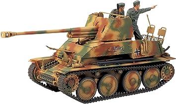 maqueta para montar tanque de guerra