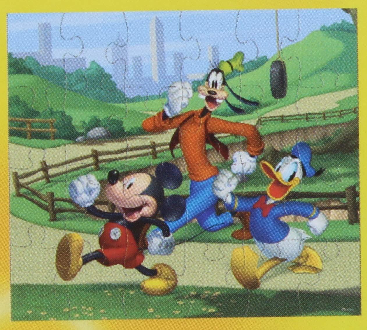 2 Pk Assorted Puzzles Disney Junior Mickey 24 Piece Puzzle
