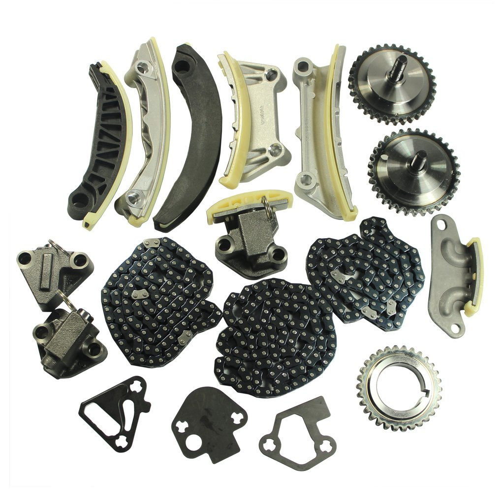 JDMSPEED New Timing Chain Kit For 07-09 Buick Cadillac CTS SRX STS Saab Suzuki 3.6L Dohc 24V