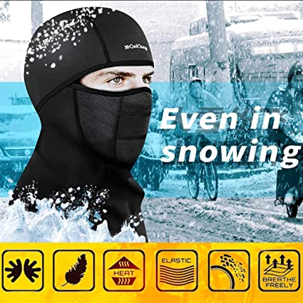 Water Wind proof Motorcycle Balaclava Motorbike Helmet Winter Bike Face Thermal
