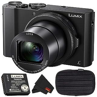 Panasonic LUMIX DMC-LX10 20.1MP Leica DC Optical Zoom Digital Camera Bundle with Carrying Case + More