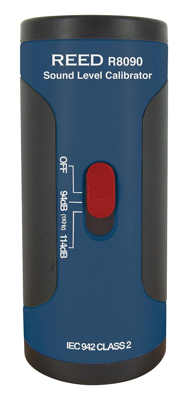 REED Instruments SC-05 Calibrateur acoustique pour 1/2' microphone de 1/2' de diamètre, précision de ±0.5dB