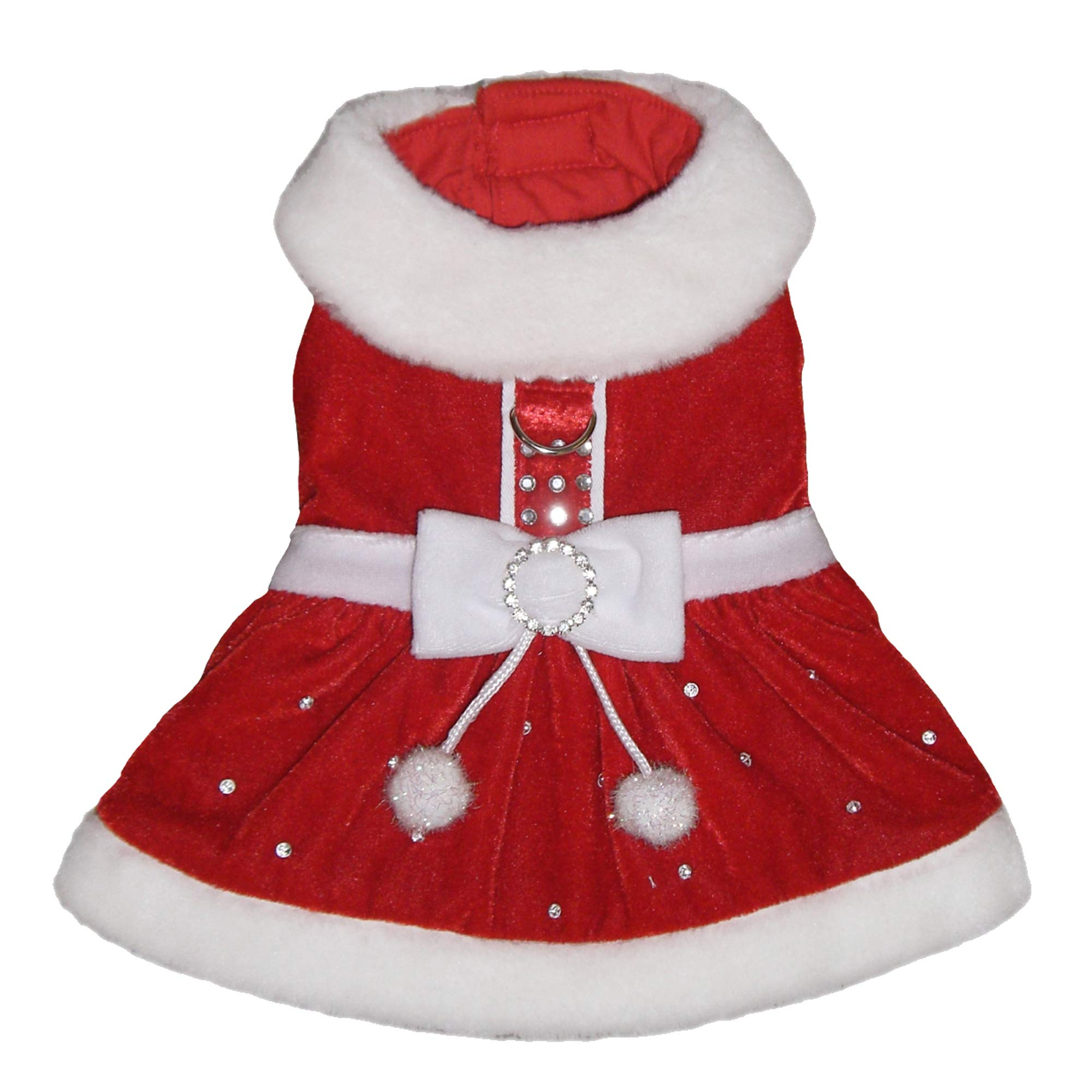 Santa Paws Dog Dress-XL by Pooch Outfitters