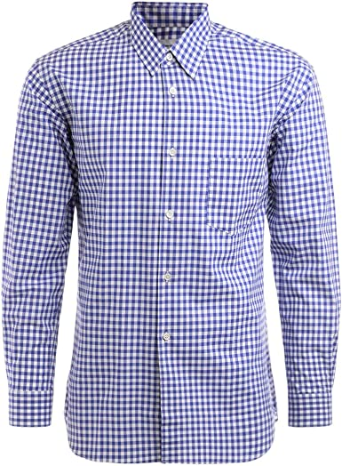 Comme des Garçons Shirt Camicia Bianco BLU - S: Amazon.es ...