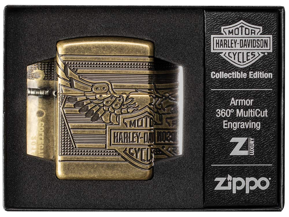 Zippo Harley-Davidson 2019 Collectible Pocket Lighter by Zippo (Image #6)