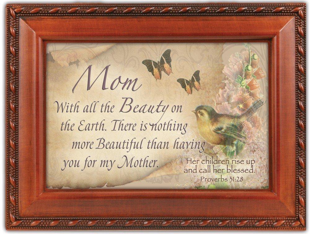 上質で快適 Mom B0090RD4ZC Beauty Music Woodgrain Garden Inspirational Cottage Garden Traditional Music Box Plays Amazing Grace B0090RD4ZC, 福祉用品専門店 介護の森:73e8f20a --- svecha37.ru