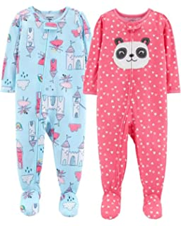 4f306f8d0 Amazon.com  Simple Joys by Carter s Baby and Toddler Girls  3-Pack ...