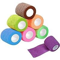 Lvcky 9 Stks Cohesive Bandage Elastische Zelfklevende Bandage Huisdier Wikkel Bandage Tape Zelfklevende Bandage…