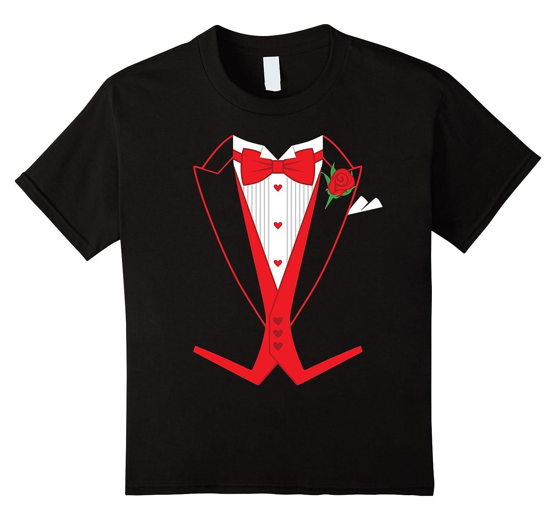 Valentines Day Costume Tailcoat T Shirt-Teeae